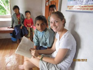 Teach English in the farming community of Gerkhu